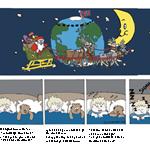 Christmas comicstrip