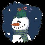 Muotâäihij-tihtâ Snowman poem